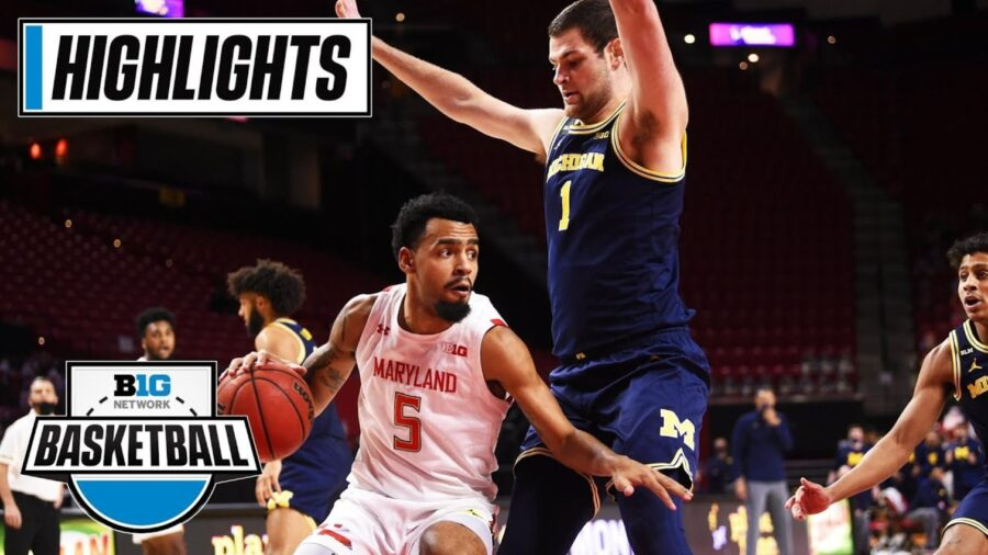 No. 16 Michigan vs Maryland Highlights
