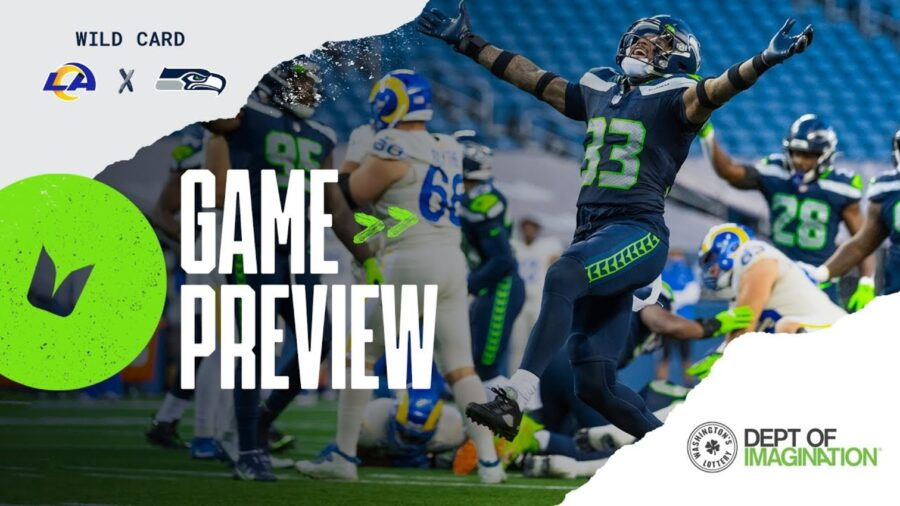 NFC Wild-card: Seahawks vs Rams