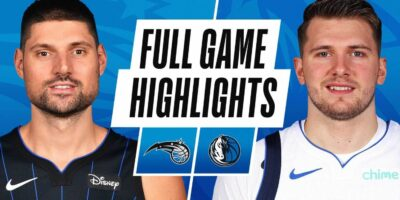 Orlando Magic vs Dallas Mavericks Highlights
