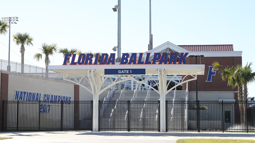 Florida Gators Baseball team play at Florida Ballpark