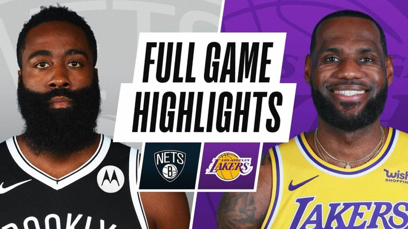 Lakers vs Nets Highlights