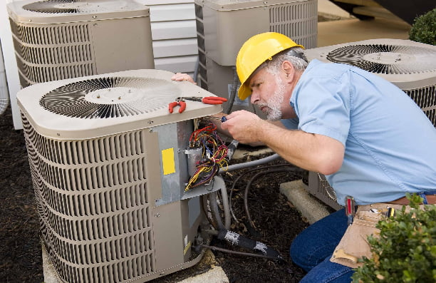 air conditioning repairman
