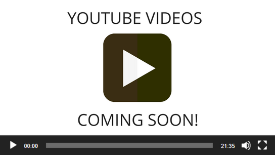 YouTube videos coming soon