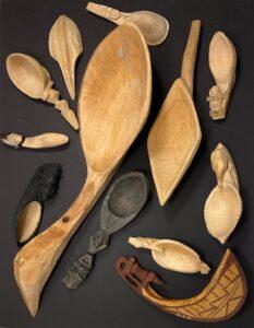 Carved Spoons Ladle & Baylor
