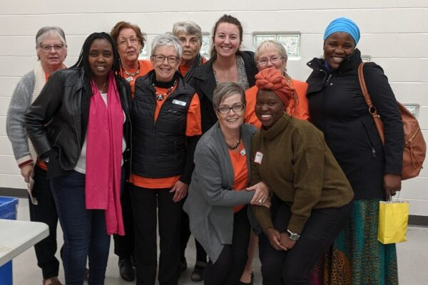 quinte grannies for africa & SLF guests