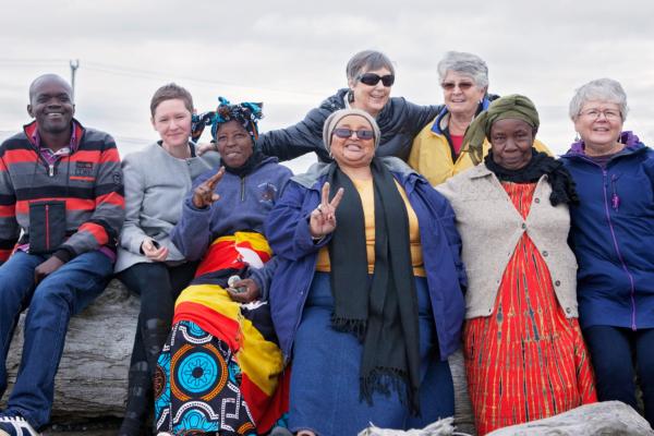 Glacier Grannies with SLF guests