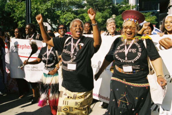 Toronto Grandmothers Gathering March, 2006