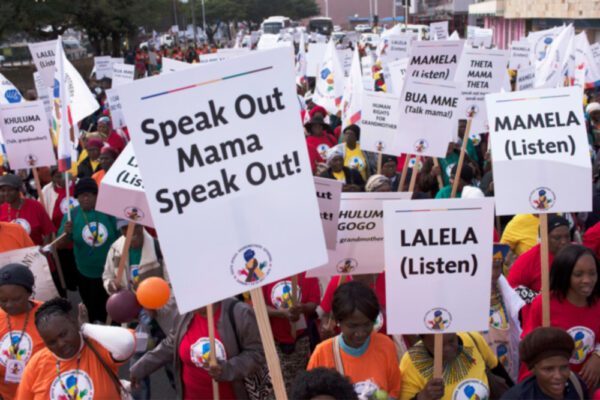South Africa Grandmothers Gathering March, 2016