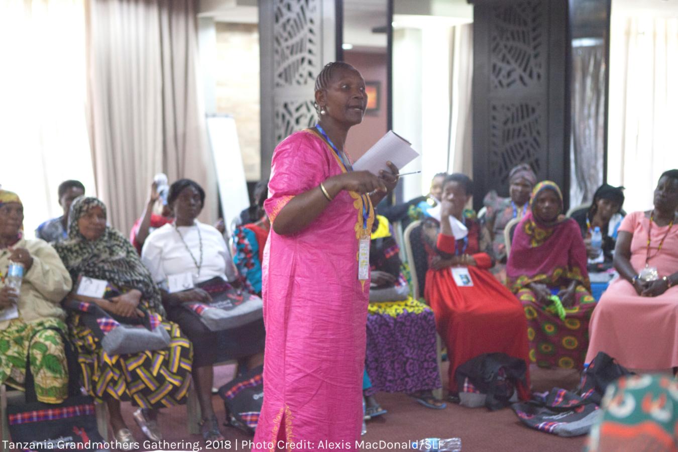 Tanzania Grandmothers Gathering