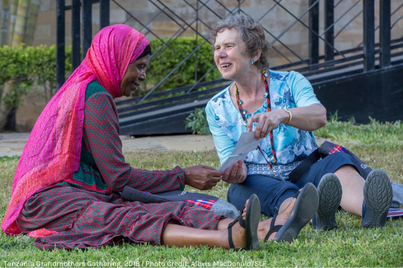 Solidarity at Tanzania Grandmothers Gathering