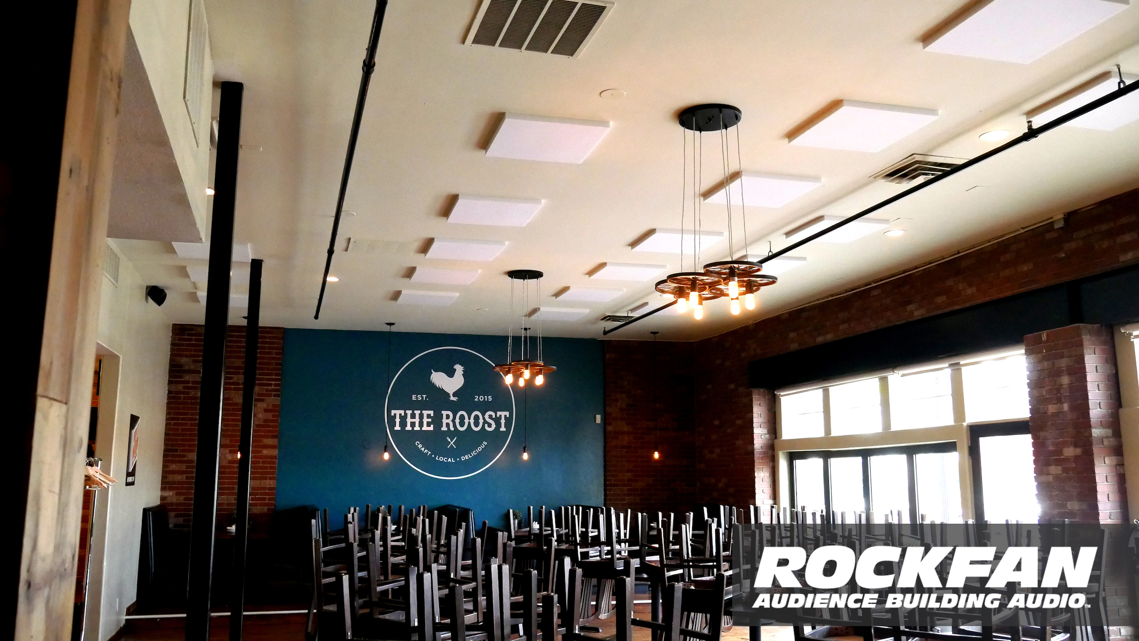 Acoustic Treatment at the Roost in Longmont Colorado