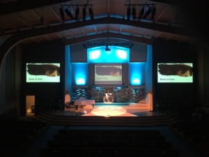 Church Stage Lighting Install