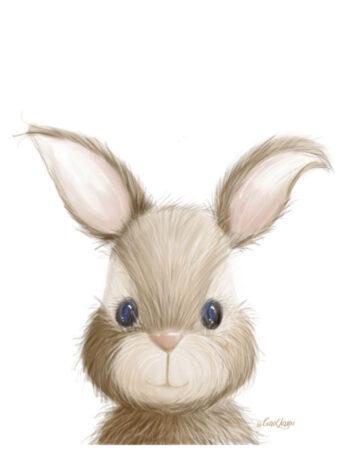 Bunnyon White Background