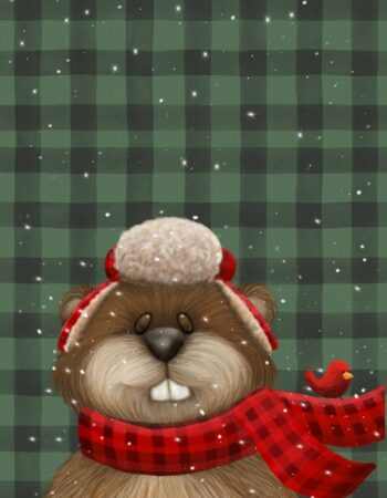 Holiday Beaver Christmas