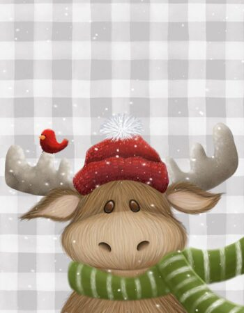 Holiday Moose Christmas