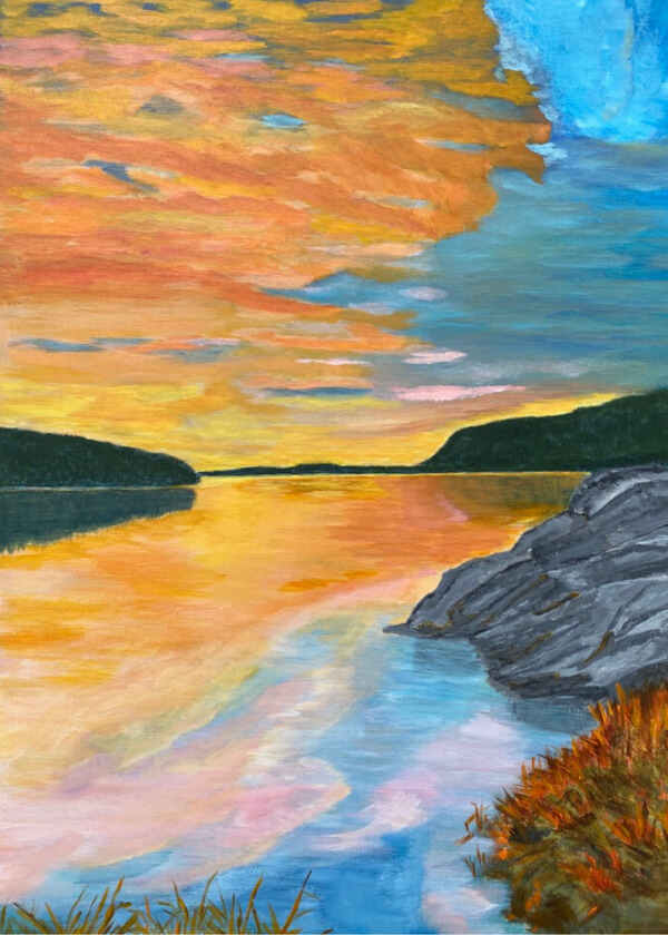 Name-Sunset on Water_Tag-Nature_Collection-Fall