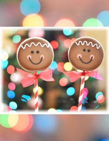 Gingerbread Pops
