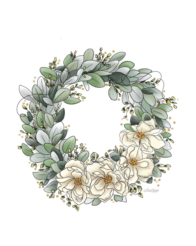 Name-Summer WreathTag-Thinking of you Celebrations Encouragement_Collection Summer