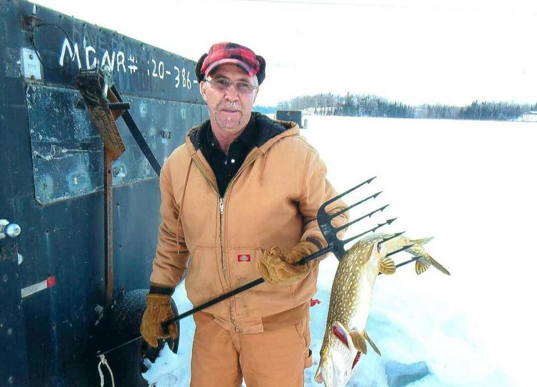 ice spearing
