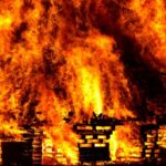 Home or Office damaged due to an explosion
