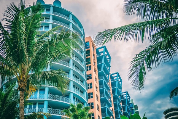 Large Condominium Building