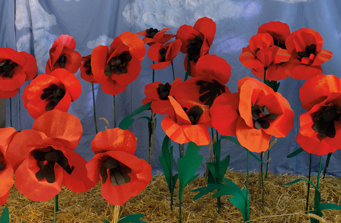 Paper Poppies Make + Do