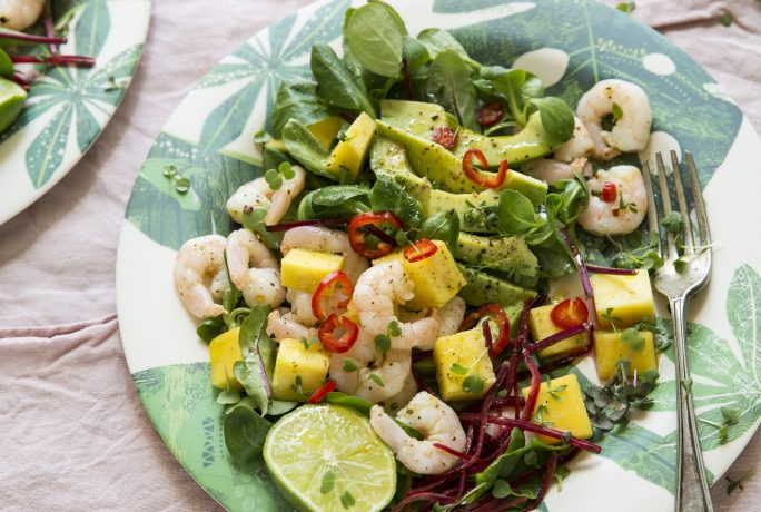 Three Tropical Salads to fall in love with this summer