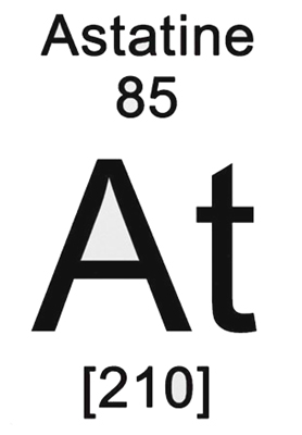 Astatine Chemical Element Properties