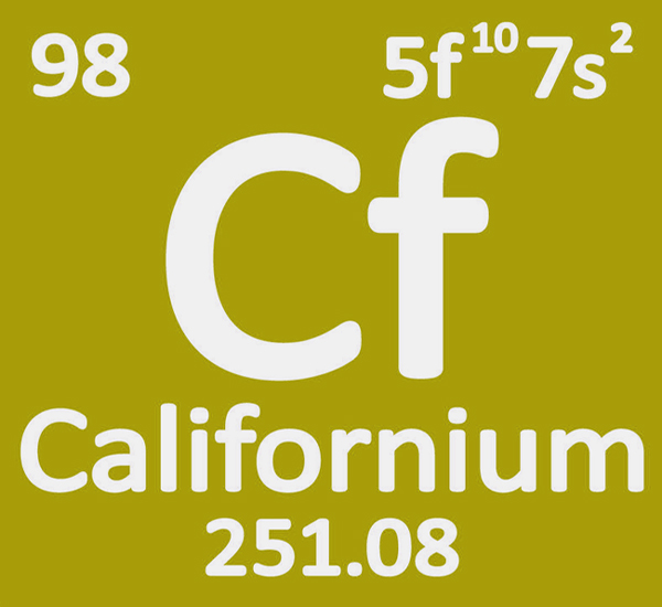 californium-properties