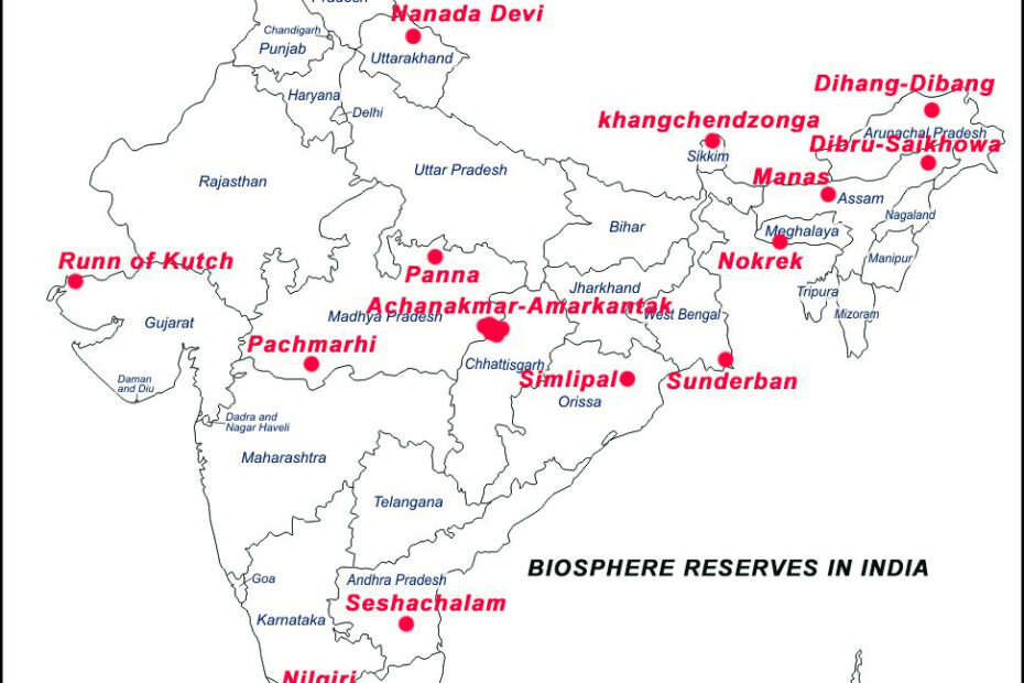 Biosphere Reserves in India