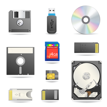 Storage devices of computer