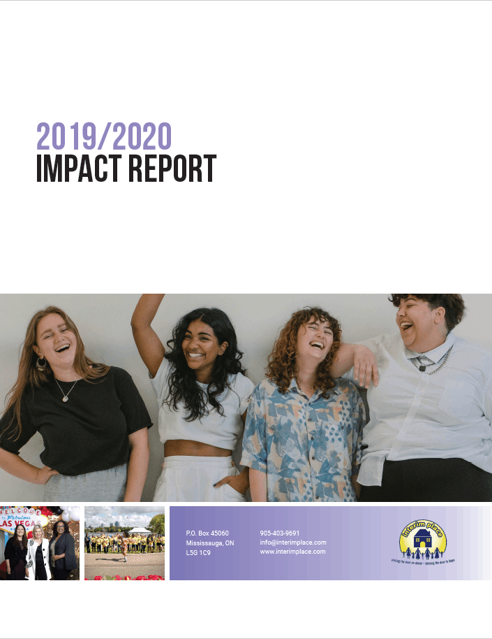 Impact Report 2019-2020 Cover