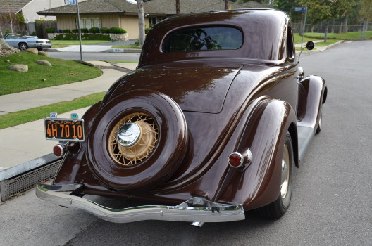 1935 Ford 5 Window Coupe Streetrod