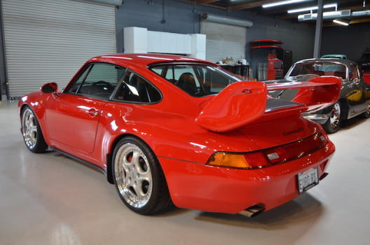 1996 Porsche 993 European spec RS 3.8