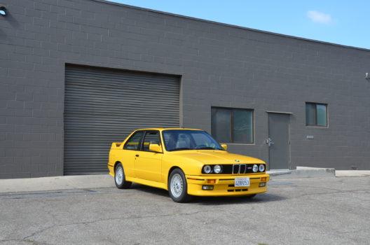 1989 BMW E30 M3 coupe