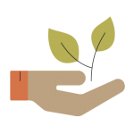 Traugers Farm Market Icons_Hand and Plant