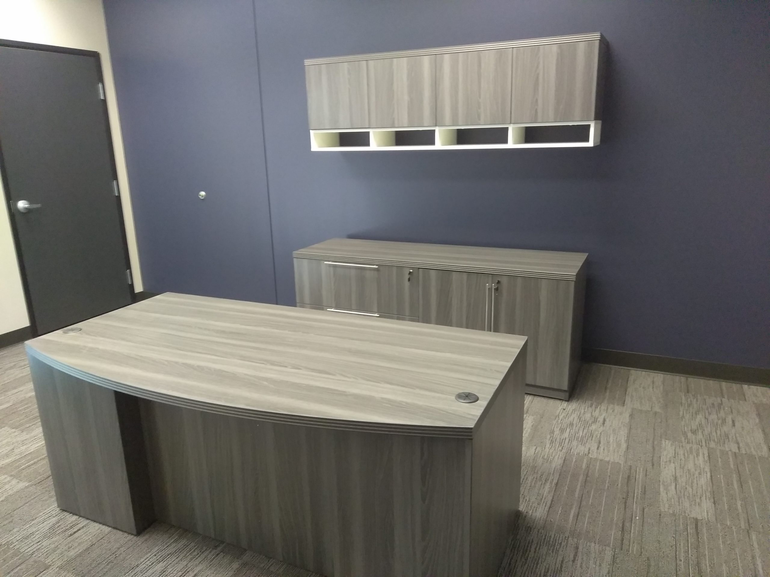 Platinum Press Executive Office installed by Monarch Office Furniture