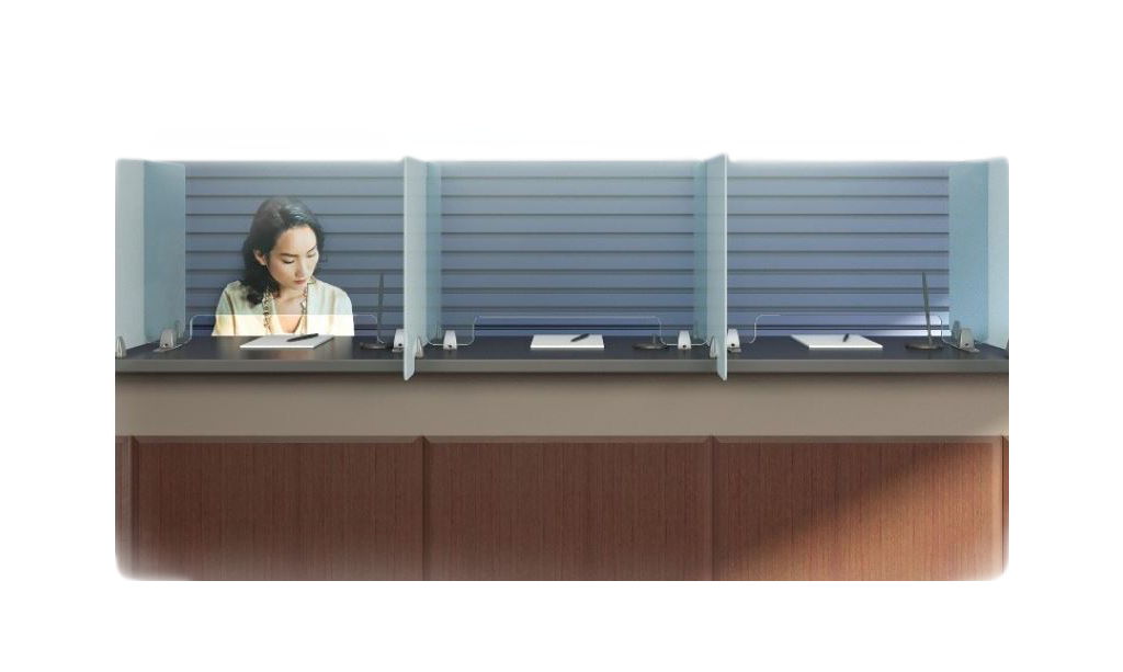 counter barriers protect you and your customer