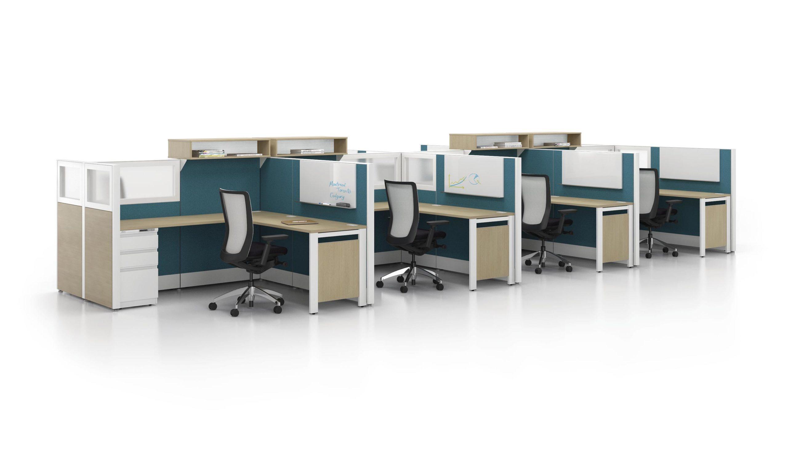 social distancing cubicles