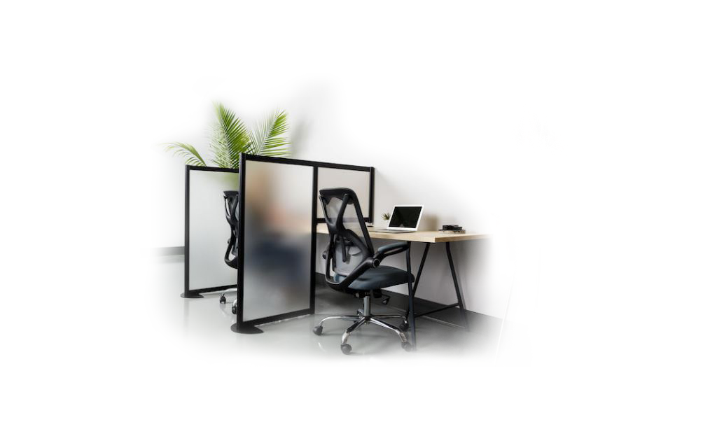 separate benching in the office