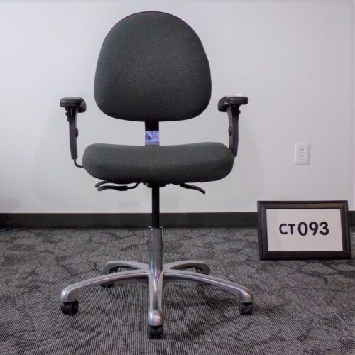 Monarch Office Furniture CT093 Used Bevco office chair in gray fabric for sale