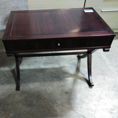 Cherry Wood occasional table with drawer