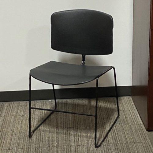 Steelcase Max Stacker III Black Breakroom Chair