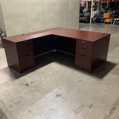 L-Shaped Left Return Desk