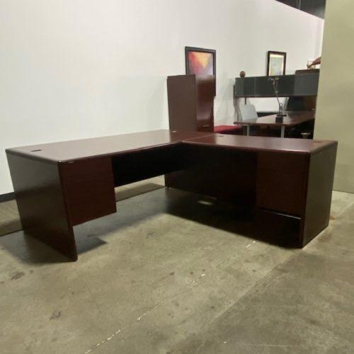 HON L Shaped desk