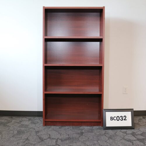 Monarch Office Furniture BC032 Used Cherry Laminate Bookcase For Sale