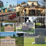 A collage of parks in District 1