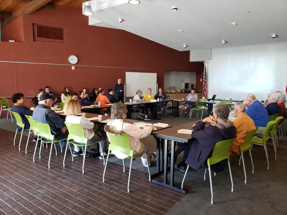 May 2019 D1 Leadership Group meeting at the West Valley Library.