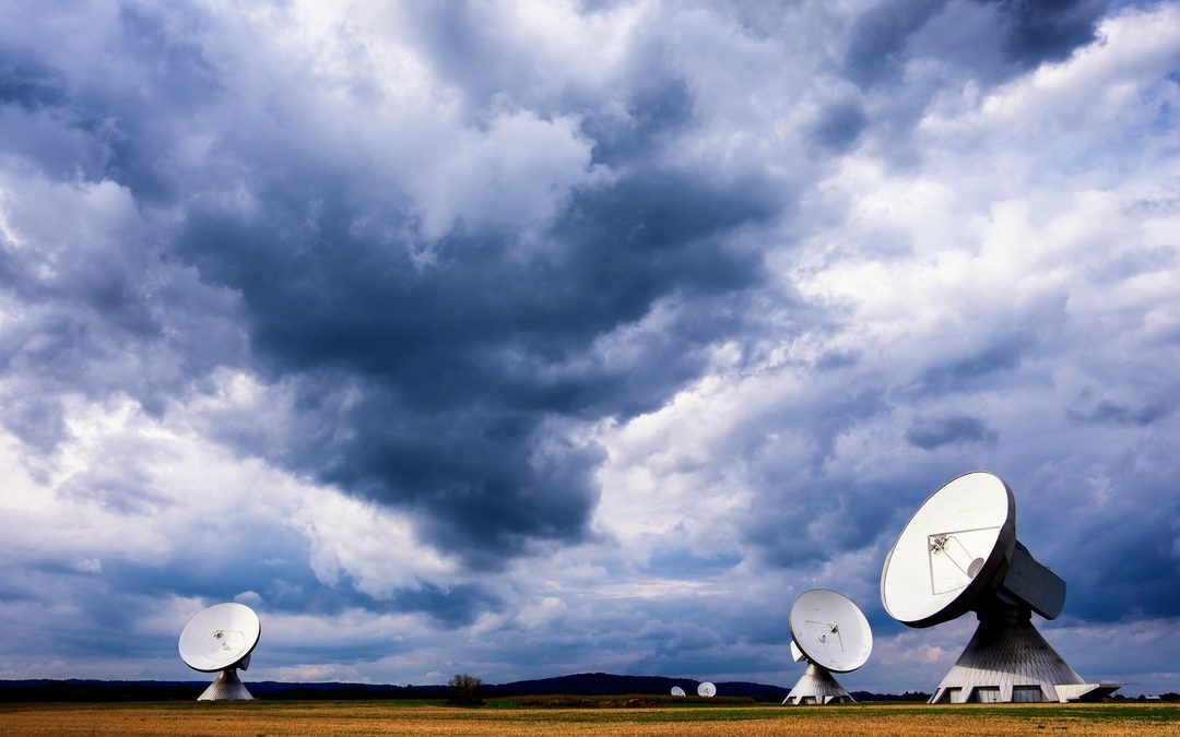 Picture of Satellite Dishes for Wi-Fi One v. Broadcom Case