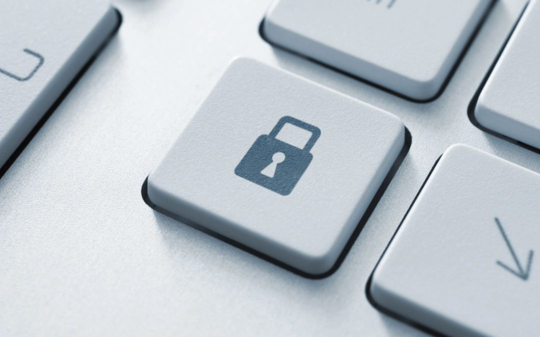 Picture of lock for data security article